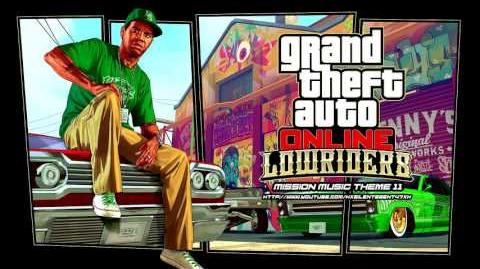Grand Theft Auto GTA V 5 Online Lowriders - Mission Music Theme 11
