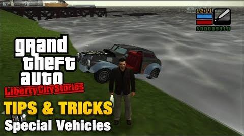 GTA Liberty City Stories - Special Vehicles