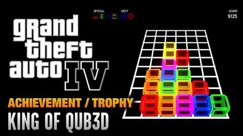 GTA 4 - King of QUB3D Achievement Trophy (1080p)