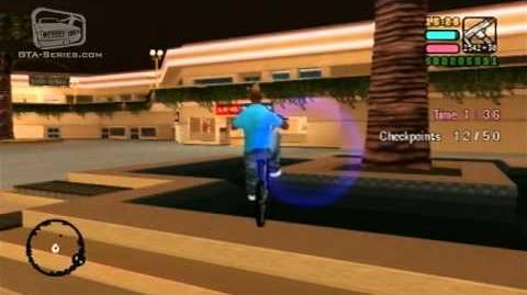 GTA Vice City Stories - Walkthrough - Mashin' up the Mall - Checkpoint Race