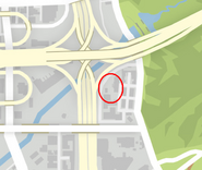 LestersWarehouse GTAV Map Location