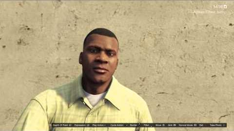 Character Actions GTAVe Franklin