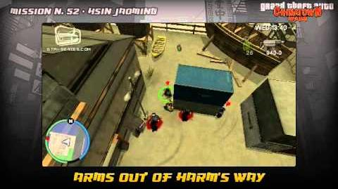GTA Chinatown Wars - Walkthrough - Mission 52 - Arms Out of Harm's Way