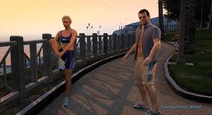 Exercising-demons-michael-strangerfreak-side-mission-gtav