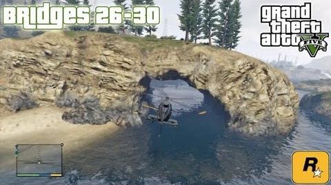 GTA5 Under The Bridges 26-30 (Aerial Challenges) Tutorial Grand Theft Auto V PS3 Xbox 360 ᴴᴰ