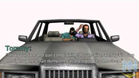 Grand Theft Auto Vice City unused cutscene (In the beginning..