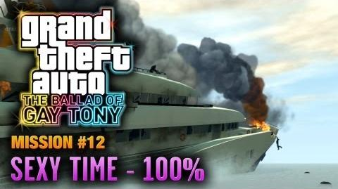 GTA The Ballad of Gay Tony - Mission 12 - Sexy Time PC - 100% (1080p)