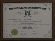 CaptainAPJones GTAV Illegible Diploma