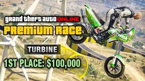 GTA Online - Premium Race 7 - Turbine (Cunning Stunts)