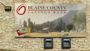 BLAINE-COUNTY SAVINGS-BANK POSTER-ATM-GTAV