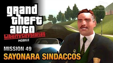 GTA Liberty City Stories Mobile - Mission 49 - Sayonara Sindaccos