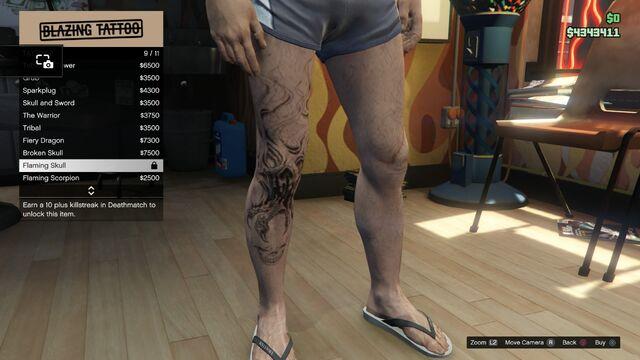 File:Tattoo GTAV Online Male Right Leg Flaming Skull.jpg