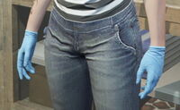 GTAO Gloves Female BlueSurgical