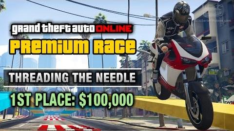 GTA Online - Premium Race 16 - Threading The Needle (Cunning Stunts)