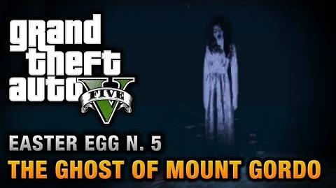 GTA 5 - Easter Egg 5 - The Ghost of Mount Gordo