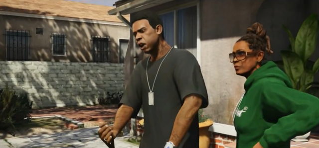 File:Lamar and a Woman-GTAV.png