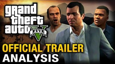 GTA 5 - The Official Trailer Analysis