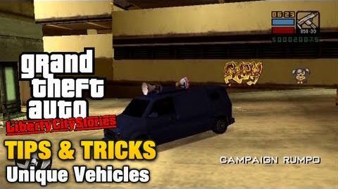 GTA Liberty City Stories - Unique Vehicles