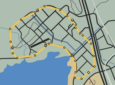 Cream of the Crop GTAO Race Map
