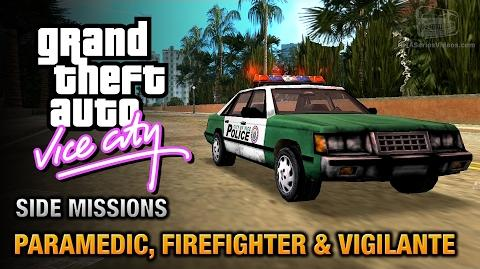 GTA Vice City - Paramedic, Firefighter and Vigilante