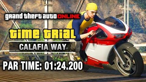 GTA Online - Time Trial 18 - Calafia Way (Under Par Time)