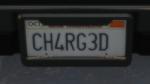 Custom Plate GTAO CH4RG3D