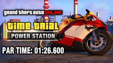 GTA Online - Time Trial 20 - Power Station (Under Par Time)