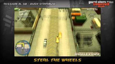 GTA Chinatown Wars - Walkthrough - Mission 50 - Steal the Wheels