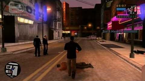 GTA Liberty City Stories - Walkthrough - Mission 27 - The Guns of Leone