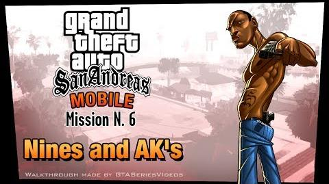 GTA San Andreas - iPad Walkthrough - Mission 6 - Nines and AK's (HD)