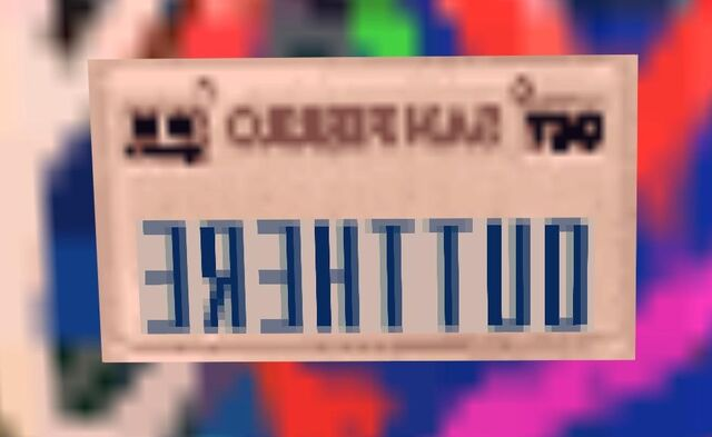 File:OutThere License Plate.jpg