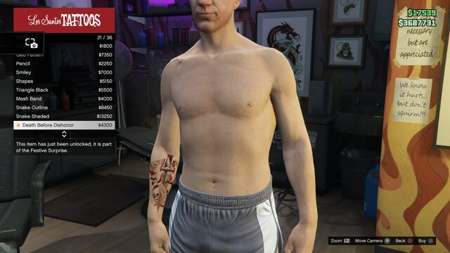 File:Tattoo GTAV Online Male Right Arm Death Before Dishonor.jpg