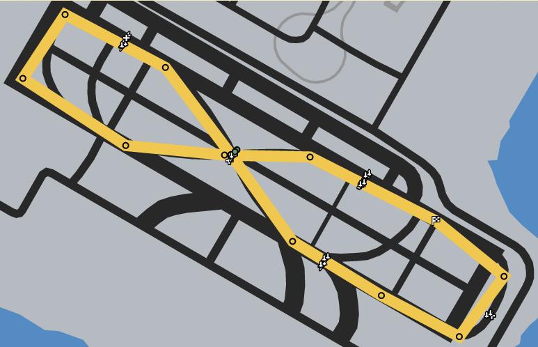 Taking Off GTAO Race Map