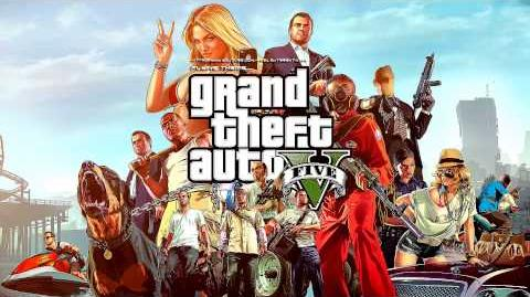 Grand Theft Auto GTA V - Flying Music Theme