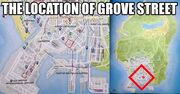 Grove Street-GTA V-Location