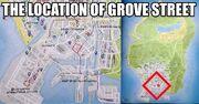 Grove Street-GTA V-Location