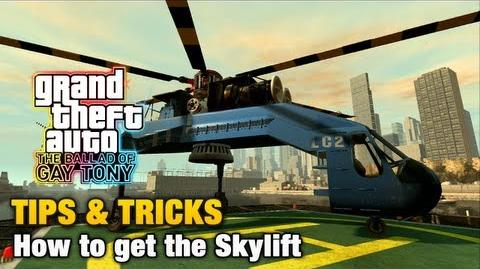 GTA The Ballad of Gay Tony - Tips & Tricks - How to get the Skylift