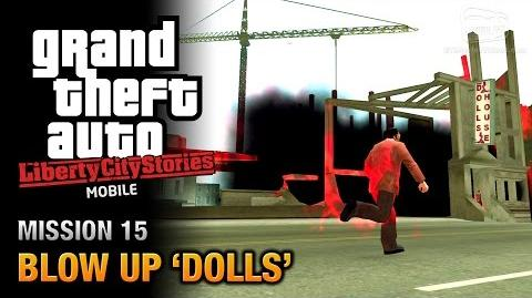 GTA Liberty City Stories Mobile - Mission 15 - Blow Up 'Dolls'