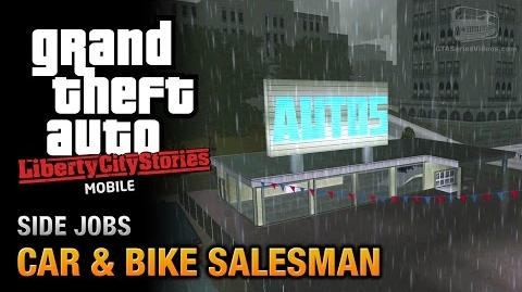 GTA Liberty City Stories Mobile - Car & Bike Salesman