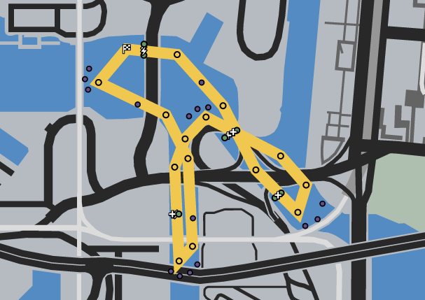 Truss Issues GTAO Race Map