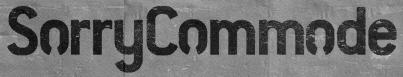 File:SorryCommode-GTAV-Logo.png