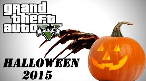 GTA 5 Online Halloween 2015 (Slasher Movies, Trick or Treat, Funny Moments)