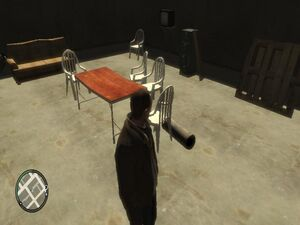 GTA IV Gambling Den Interior