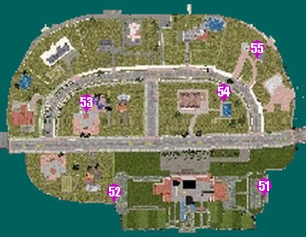 GTAVC HiddenPack 51-55 Starfish Island map