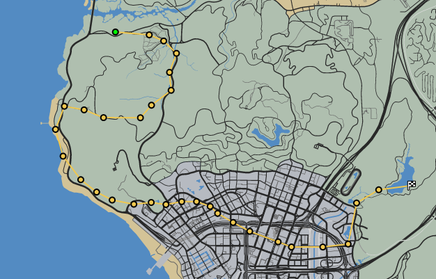High Dive GTAO Race Map