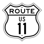 US Route 11 Shield