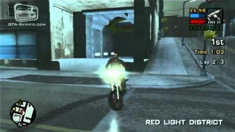 GTA Liberty City Stories - Walkthrough - Street Race - Red Light Racing