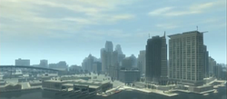 Alderney City Skyline