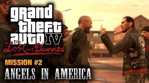 GTA The Lost and Damned - Mission 2 - Angels in America (1080p)