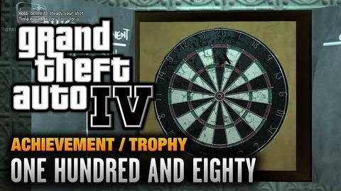 GTA 4 - One Hundred And Eighty Achievement Trophy (1080p)